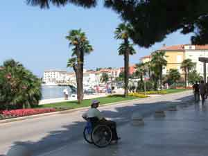 Porec waterfront